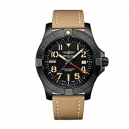 AVENGER AUTOMATIC GMT 45 NIGHT MISSION, Black Titanium
