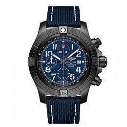 SUPER AVENGER CHRONOGRAPH 48 NIGHT MISSION, Black Titanium
