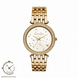 Darci Crystals Gold-Tone Watch