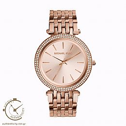 Darci Crystals Rose Gold-Tone Watch