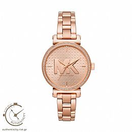 Sofie Rose Gold tone watch