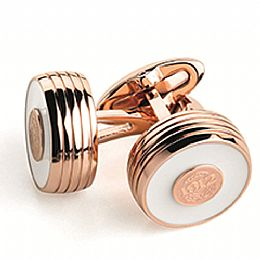 PIACERE CUFFLINKS, ROSE GOLD