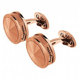 NEROUNO CUFFLINKS, ROSE GOLD