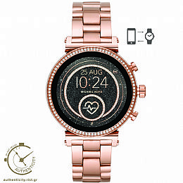 Access Sofie Rose Tone Gold Smartwatch